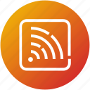 feed, news, rss, signals, stream icon
