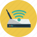 internet, router, wi-fi icon