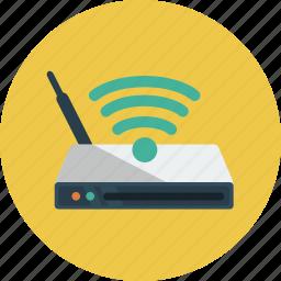 internet, router, wi-fi icon