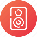 audio, device, monitor, music, speaker, woofer icon