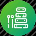 audio, device, instrument, music, xylophone icon