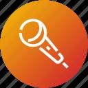 device, karaoke, mic, microphone, record icon