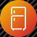 device, freezer, fridge, kitchen, refrigerator icon