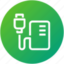 cable, charger, device, energy, powerbank, technology icon