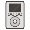 classic, ipod, legacy, music, player icon