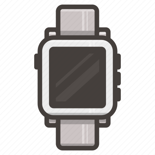 pebbble, smartwatch, time, watch icon