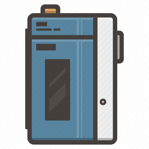 cassette, music, player, sony, tape, walkman icon