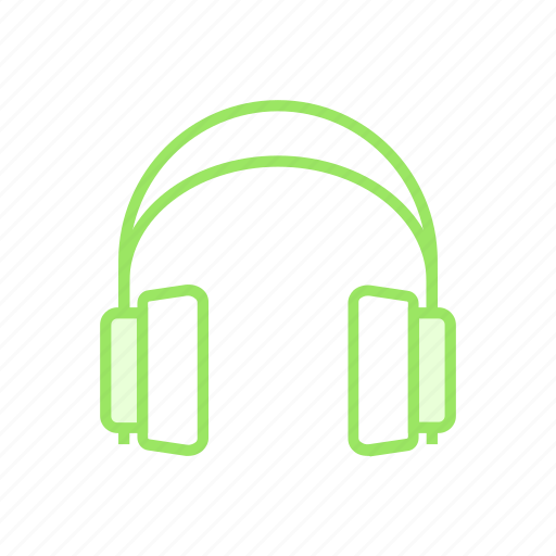 audio, device, headphone, music icon