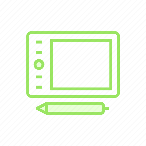 device, graphictablet, pentablet, tablet icon