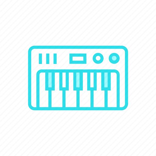 device, music, piano, synthesizericon icon