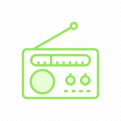 audio, device, music, radio icon
