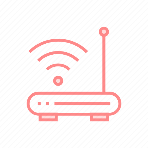 device, modem, router, wifiroutericon icon