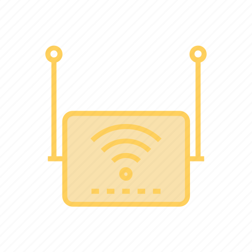 device, internet, router, wifiicon icon