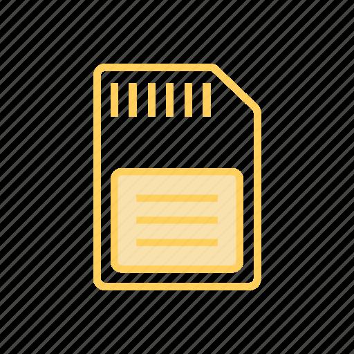 device, hardware, sdicon, storage icon
