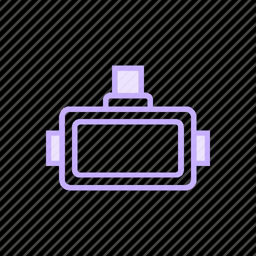 device, oculus, virtual, vricon icon