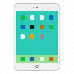 apple, device, ipad, mobile, tablet icon