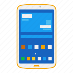 android, device, galaxy, mobile, samsung, tablet icon
