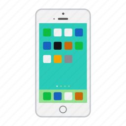 apple, cell, device, mobile, phone, smartphone icon