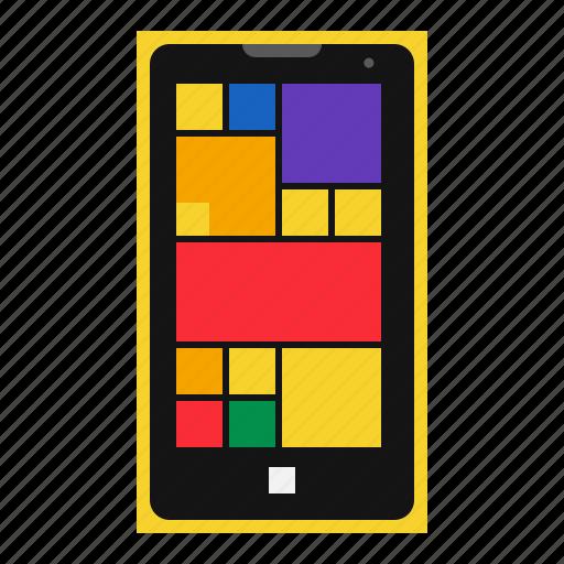 cell, lumia, mobile, nokia, phone, smartphone, windows icon