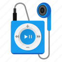 audio, earbud, headphone, ipod, music, play, player icon