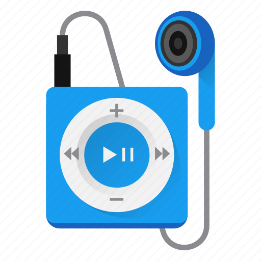 audio, earbud, headphone, ipod, music, play, player icon