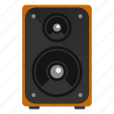 audio, device, music, speaker icon