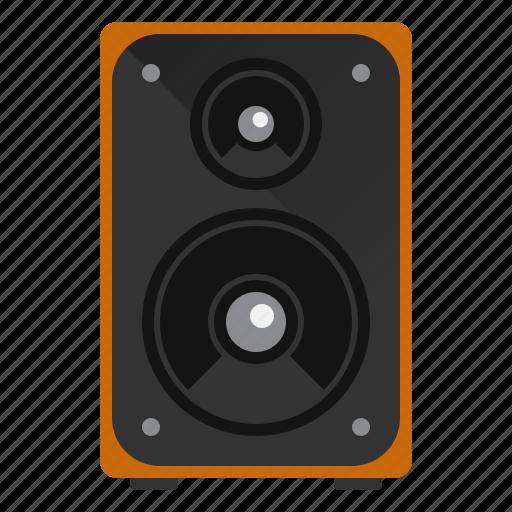 audio, device, music, speaker icon