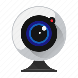 call, cam, camera, device, video, webcam, webcamera icon