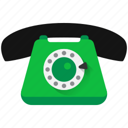 call, contact, contacts, dial, landline, phone, talk icon