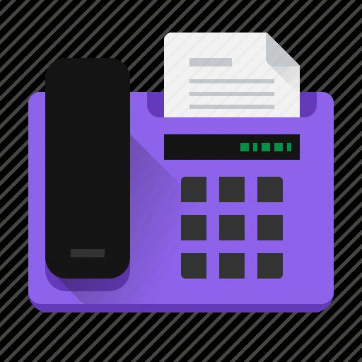 call, contact, dial, fax, landline, phone, send icon
