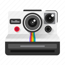 camera, image, instant, photo, photography, picture, polaroid icon