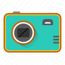 camera, device, image, photo, photography, picture, point and shoot icon