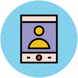 call, cell phone, smartphone, video call, video conference icon