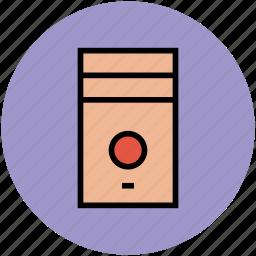 base unit, computer, computer case, cpu, system unit icon