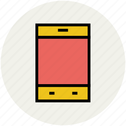 cell phone, cellular, handset, ipad, mobile phone, smartphone icon