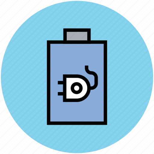 battery, battery level, battery status, charge battery, plug symbol, plugin battery icon