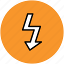 bolt, energy, lightning, power, power bolt icon