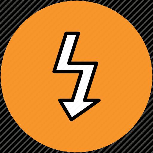 bolt, energy, lightning, power, power bolt icon