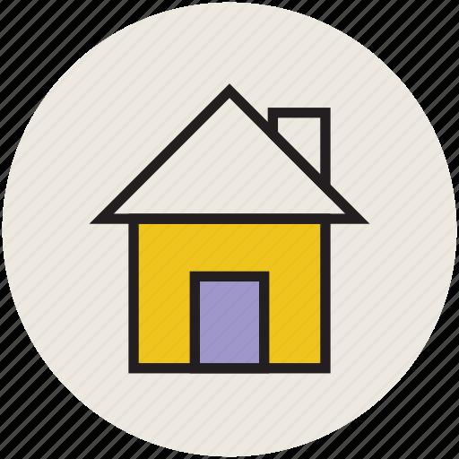 home, house, shack, web home, web page home icon