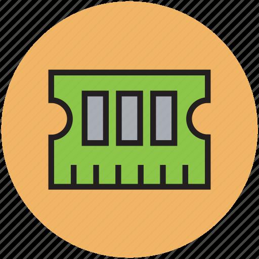 computer memory, computer ram, cpu memory, ram, ram memory icon