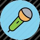 mic, microphone, wireless mic, wireless microphone icon