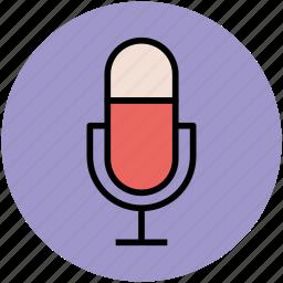 mic, microphone, radio mic, radio microphone icon
