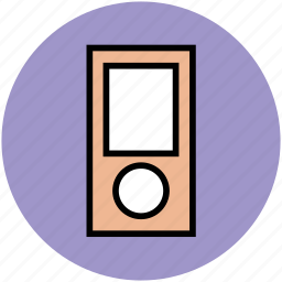 ipod, media player, mp3 player, music player icon
