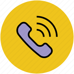 phone receiver, phone vibrating, receiver, telephone, telephone call icon