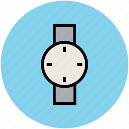 hand watch, time, timepiece, timer, watch, wrist watch icon
