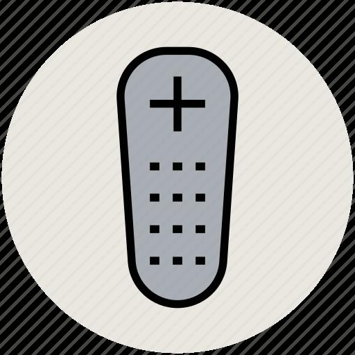 control, remote, remote control, tv remote icon