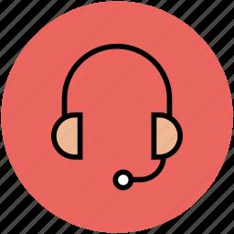 earphone, earphone set, earset, headphone, headset icon