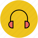 earphone, earset, headphone, headset, wireless headset icon