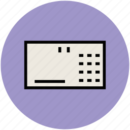 computer keyboard, hardware, input device, keyboard, typing board icon