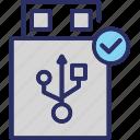 pendrive, usb, usb connection, usb port, usb sign icon
